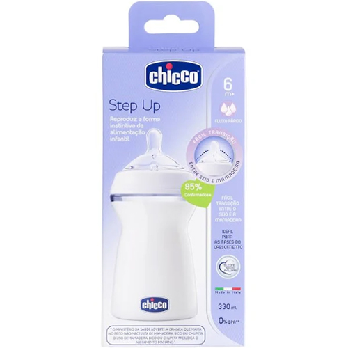 Mamadeira Step Up 6m+ 330ml – Chicco