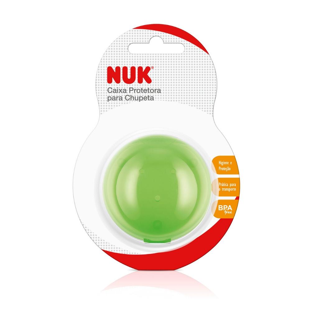 Caixa Protetora Para Chupeta Verde – Nuk