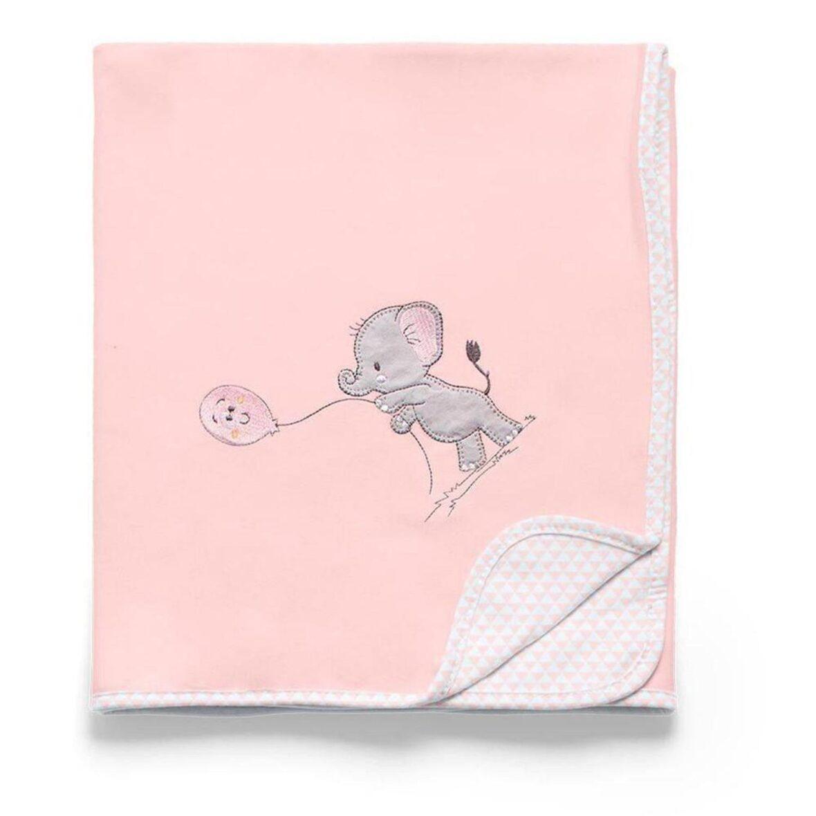 Manta Suedine Lembranças de Infancia Rosa – Hug